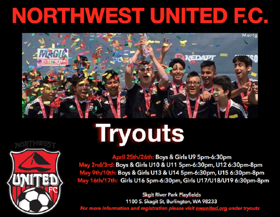 2018-2019 Tryouts - Register now!