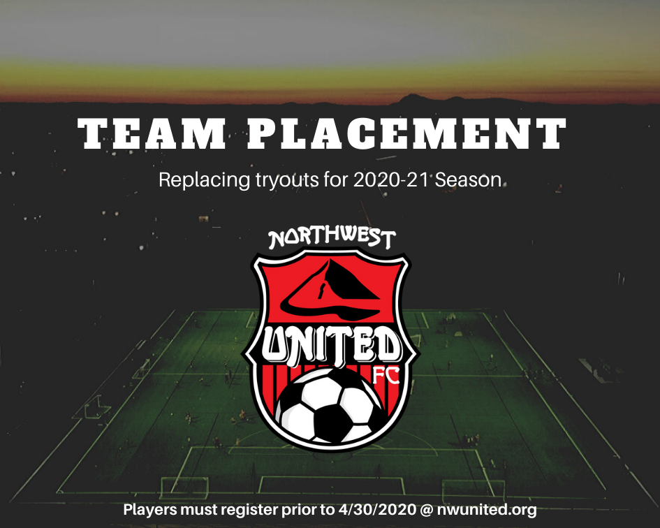 2020-21 Team Placement