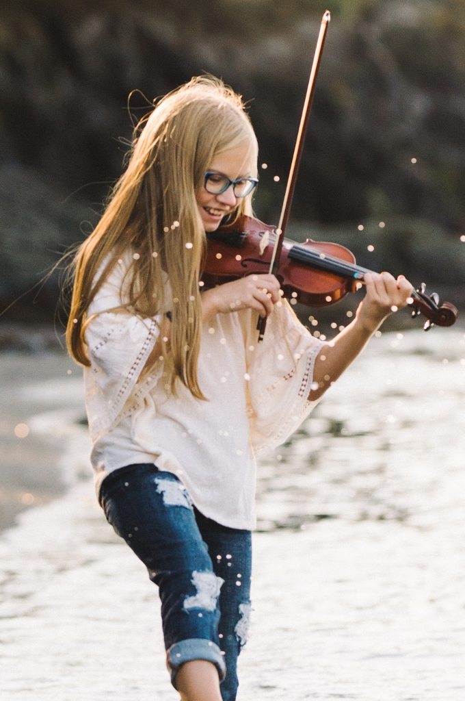 Grace Dilworth joins the Fidalgo Youth Symphony!