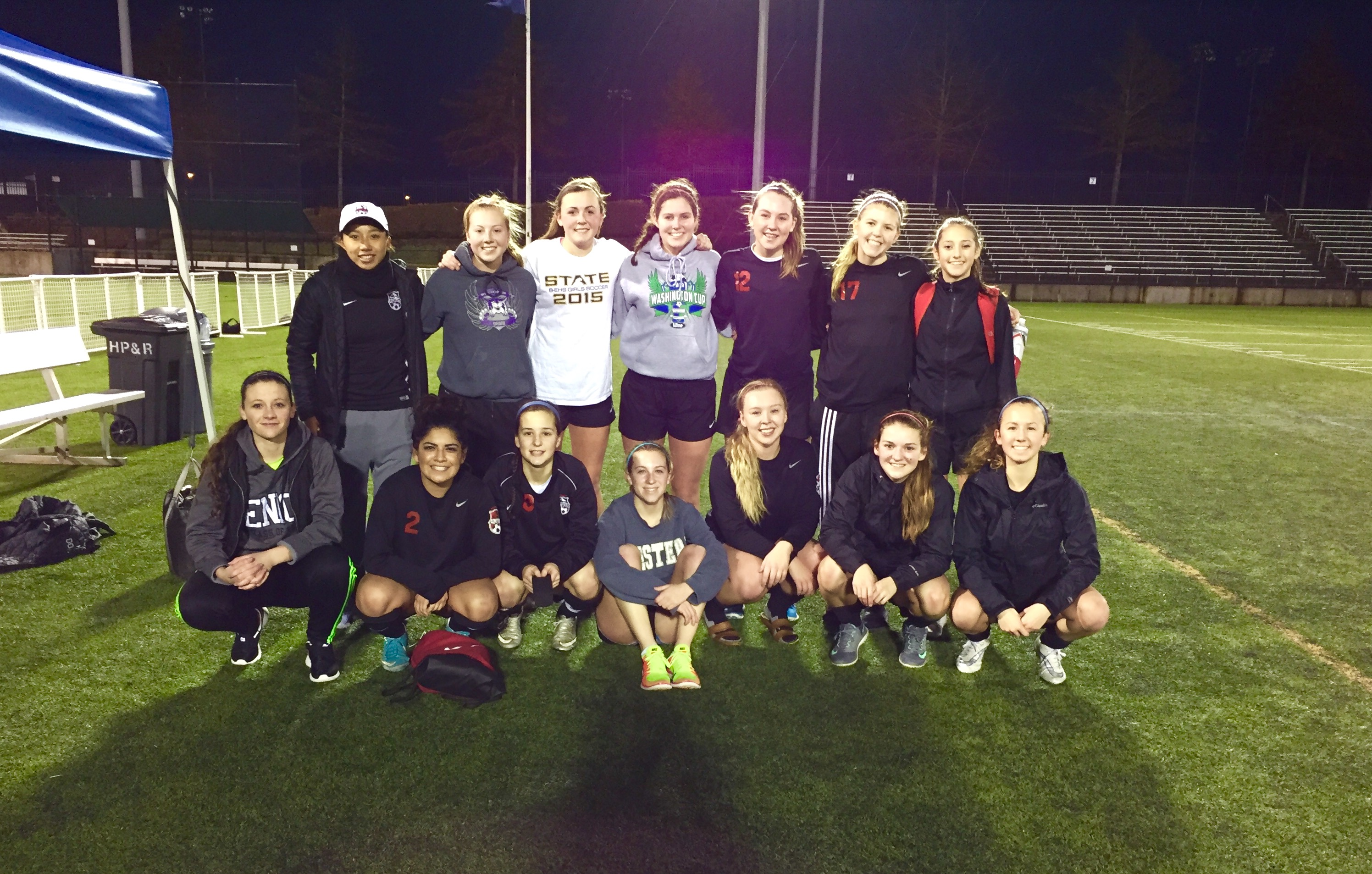U18 Premier Girls Tie for 4th Place in 13th Annual Portland Winter College Showcase